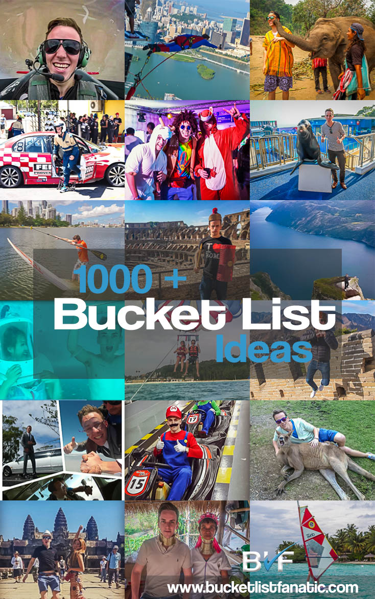 The 1000 + Bucket List - Pinterest