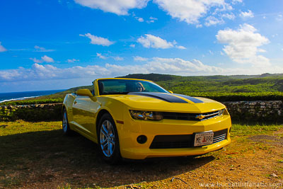 Guam - Sports Car - Bucket List
