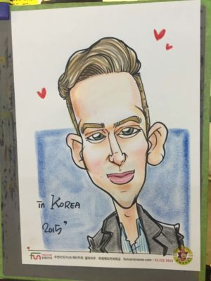 Bucket List: Have a Caricature Drawn