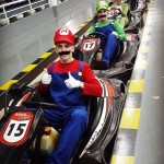 Go Karting as Mario Kart characters in Pattaya, Thailand