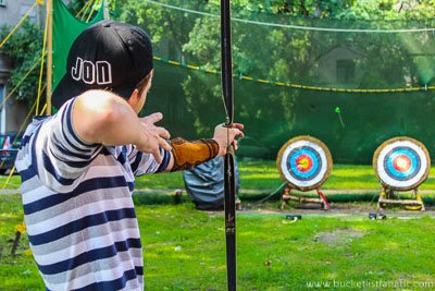 Archery, Bucket List