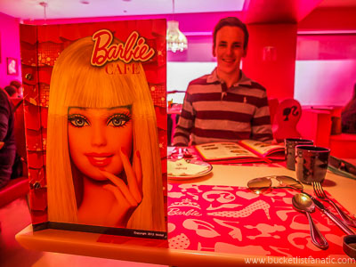 Barbie café - Bucket List
