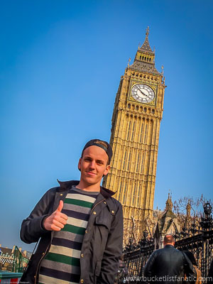 Big Ben, UK - Bucket List