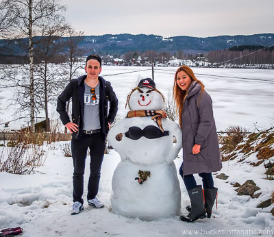 Bring my girlfriend to Norway - Bucket List