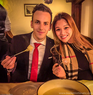 Cheese Fondue in Switzerland - Bucket List