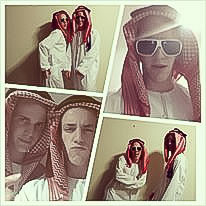 Dress up as sheik - Bucket List