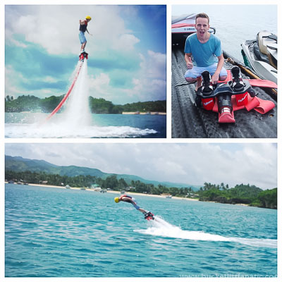 Flyboard, Bucket List