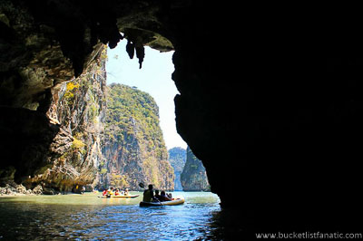 Kayaking Through Bat Caves - Bucket List
