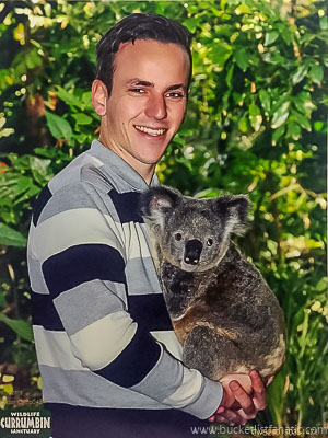 Hold a koala - Bucket List