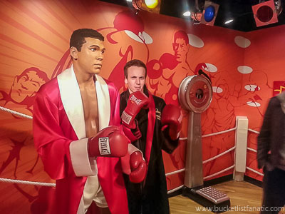 Madame Tussaud's - Bucket List