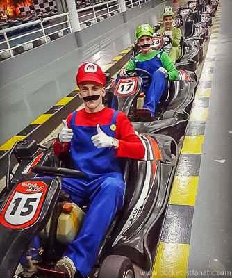 Mario Go Kart, Bucket List