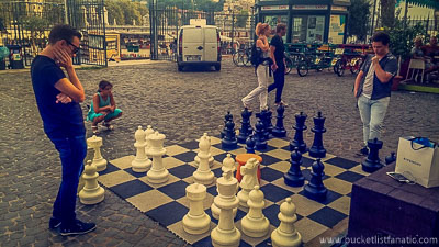 Mega Chess, Bucket List