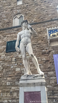 See Michelangelo's David - Bucket List