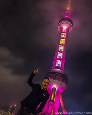Oriental Pearl Tower - Bucket List