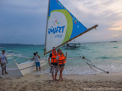 Paraw Sailing, Bucket List