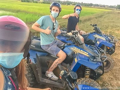 Quad Bike - Bucket List