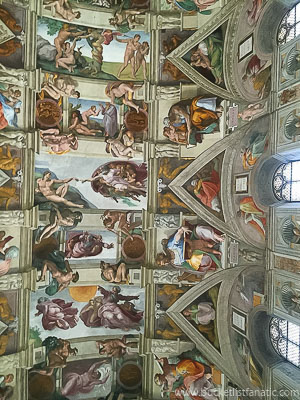 See the Sistine Chapel in the Vatican - Bucket List