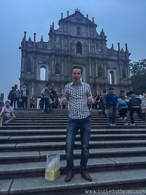 St. Paul Church, Macau - Bucket List