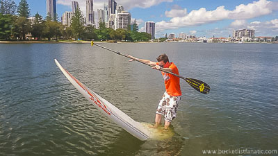 Standup Paddle Board - Bucket List