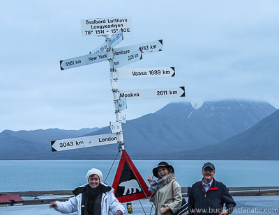 Svalbard Family Trip - Bucket List