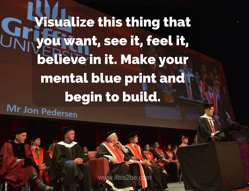 Quote about Visualizing