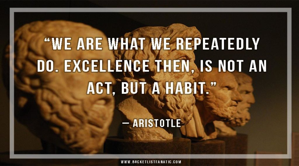 Ask Yourself These Questions - Habit Quote