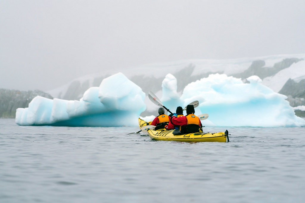 Kayaking Antarctica - 50+ Heart-Pounding, Thrilling Activities for Daredevils